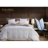Buy cheap 100% Cotton Printed Hotel Quality Bed Linen Plain White Duvet Cover from wholesalers