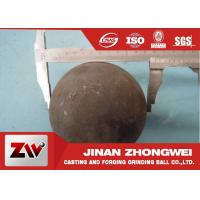 Buy cheap 58-64 HRC Grinding Media Balls for metal mine , power station , cement plant from wholesalers