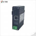 Buy cheap DIN Rail RJ45 3W Industrial Ethernet Media Converter 1000Base-T from wholesalers