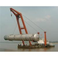Buy cheap Sri Lanka,Sudan,Syria floating crane sell charter supply crane barge 100T TO from wholesalers