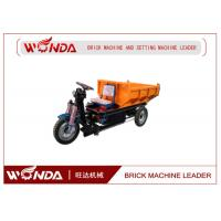 Buy cheap Three Wheel Electric Mini Dumper 36V Open Body Type Brick Production Line Applied from wholesalers
