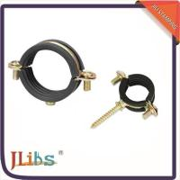 Buy cheap Brass Scaffolding Rubber Lined Pipe Clamps from wholesalers