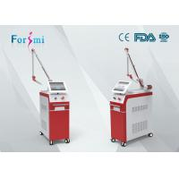Buy cheap 220V, 10A ruby laser tattoo removal machine nd yag laser hair removal machine from wholesalers