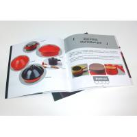 Buy cheap OEM Tri Fold Brochure Color Booklet Printing Service for company advertising from wholesalers