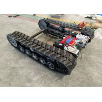 Buy cheap Agricultural Machineries Rubber Track Undercarriage With Chassis / Power Transmission from wholesalers