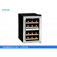 Buy cheap Small Thermoelectric Wine Refrigerator / Stainless Steel Wine Cooler from wholesalers