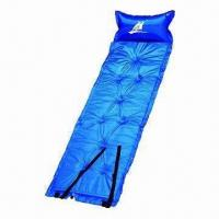 Buy cheap Self-inflating mattress, flame-retardant, waterproof, with pillow, lightweight from wholesalers