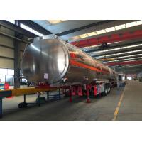 Buy cheap Stainless Steel Semi Trailer Water Tank Truck Hydraulic Flatbed Trailer from wholesalers