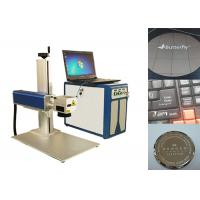 Fiber Laser Marking Machine , Portable Laser Marking Machine 100000 hours lifespan