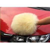 Buy cheap Auto Detailing Tool Car Cleaning Mitt With 100% Australia Natural Wool from wholesalers