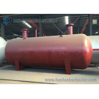 Buy cheap ISO BV SGS 50000L undergrond horizontal type cylinder LPG gas storage tank , LPG tank trailer from wholesalers