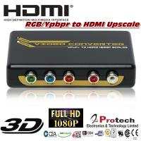 Buy cheap Ypbpr RGB to HDMI Converter upscale to 1080P 720P PETRHS from wholesalers