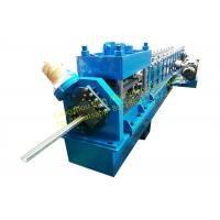 Buy cheap Steel Rolling Shutter Door Guide rail Roll Forming Machine 3 Phase With 3kw Motor Power from wholesalers