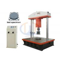 Buy cheap Computer Control manhole cover Compression Testing Machine 600KN / 1000KN / 1500KN from wholesalers