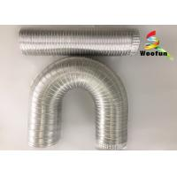 Buy cheap Round 10 Inch Aluminum Air Duct , Ventilation Heat Resistant Flexible Ducting from wholesalers