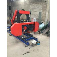 Buy cheap 27 Wood Cutting Used Portable Bandsaw Sawmill mobile horizontal band saw mill from wholesalers