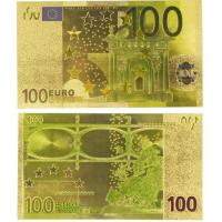 Buy cheap Foil Banknote Euro 100 World Paper Money Collections from wholesalers