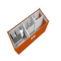 Buy cheap HEYA container wc toilet garden shed small building construction company from wholesalers
