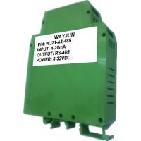 Buy cheap WAYJUN one channel Analog  signal to RS485 Converter A/D Converter  0-5V to rs232 with Modbus 12bits from wholesalers