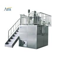 Buy cheap High Shear Mixer with Mill Function 10-400 kg/batch Pharmaceutical Granulation Equipment Platform Type 25-1000L from wholesalers