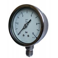 Buy cheap Glycerine - Filled Manometer Pressure Gauge With Bayonet Bezel from wholesalers
