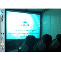 Buy cheap Convenient Moving Cabin 6D Motion Theater With Dynamic 9 Seatings from wholesalers