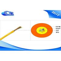 Buy cheap GJFJV 50/125 2/4/8/12/24 Core Indoor Fiber Optic Cable PVC or LSZH Jacket Type from wholesalers