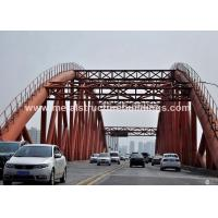 Buy cheap Easy erection structural steel roof trusses , portal truss for abroad client from wholesalers