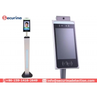 Buy cheap 50cm Temperature Measuring Intelligent Face Recognition Thermometer Non-Contact Attendance System from wholesalers