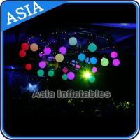 Buy cheap Inflatable LED Lighting Balloon Ceiling Decoration for Club Party Eclairage from wholesalers