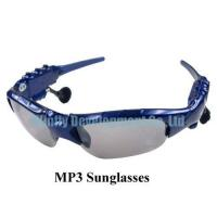 Buy cheap SG001,MP3 Sunglasses,China MP3 Sunglasses Factory from wholesalers