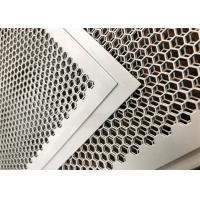 Buy cheap Customized Perforated Metal Mesh , Perforated Corrugated Metal Round And Hexagonal Holes from wholesalers
