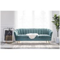 Buy cheap Fashion design 3 seaters chesterfield birch wooden sofa event retal wedding long back sofa stainless steel legs sofa from wholesalers