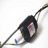 Buy cheap Integrated slip ring with air,power and Ethernet,Aluminum alloy housing,used for Machinery manufacturing from wholesalers
