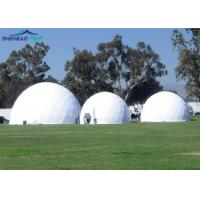 Buy cheap Transparent PVC Event Geodesic Dome Tent Steel Frame Colourful Cover from wholesalers
