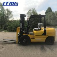 Buy cheap LTMG 3.5 ton diesel forklift truck with mechanical transmission and cabin from wholesalers