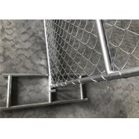 Buy cheap Security site fencing panels 6x12 feet /chain link temporary fencing direct factory from wholesalers