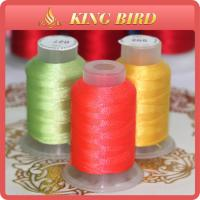 Buy cheap Hand Polyester Brother Machine Embroidery Bobbin Thread Bright Colors from wholesalers