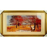 Buy cheap Hand Embroidery Landscape Paintings for Home Decoration from wholesalers