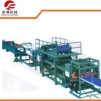Buy cheap Automatic EPS Sandwich Panel Production Line For Making Composite Roof Board from wholesalers