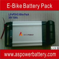 Buy cheap Light weight Electric bike battery pack 36V 10Ah ( Mn-Li-ion battery ) from wholesalers