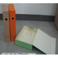 Buy cheap selling well cardboard files,magazine files, office set files ,accept customized boxes from wholesalers