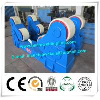 Buy cheap Automated PU Roller Pipe Welding Rotator / 5 Ton Welding Turning Rolls from wholesalers