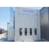 Buy cheap LED Light Big Bus / Truck Spray Booth , Side Draft Spray Booth Energy Saving from wholesalers