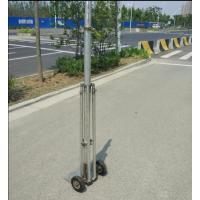 Buy cheap 6m telescopic antenna portable  light weight antenna mast with tripod from wholesalers