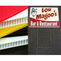 Buy cheap Polypropylene Plastic Correx Fluted Board Sign from wholesalers
