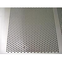 Buy cheap Decorative Perforated Metal Mesh Lowes 0.1-0.8mm Thickness Small Round Hole from wholesalers