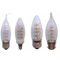 Buy cheap E14, E27, E12 3W 2800K - 6500K Dimmable glass Led Candle Light Bulbs from wholesalers