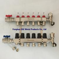 Buy cheap 6 Way Underfloor Heating Stainless Steel Water Manifold ,  Manifolds for Underfloor Heating/Cooling from wholesalers
