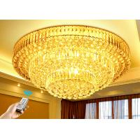 Buy cheap Polishing 3 Layers Modern K9 Crystal Ceiling Lamps For House Estates from wholesalers